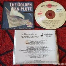 CDs de Música: JEAN LUC PONTY & SOUNDS UNLIMITED ORCHESTRA *THE GOLDEN PAN-FLUTE* 1989 USA CD. Lote 185904191