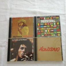 CDs de Música: BOB MARLEY X 4 CDS. Lote 185909630