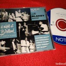 CDs de Música: ART BLAKEY QUINTET A NIGHT AT BIRDLAND VOL.1 BROWN+DONALDSON+SILVER+RUSSELL+BLAKEY CD 2001 USA. Lote 185934320