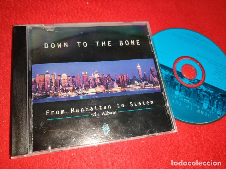 DOWN TO THE BONE FROM MANHATTAN TO STATEN CD 2007 USA (Música - CD's Jazz, Blues, Soul y Gospel)