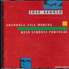 CDs de Música: JOSE AFONSO - GRANDOLA, VILA MORENA - CD. Lote 185973238