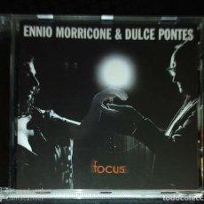CDs de Música: ENNIO MORRICONE & DULCE PONTES (FOCUS) CD 2003. Lote 185986746