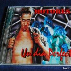 CDs de Música: MOTORES UN DIA PERFECTO. Lote 185991872
