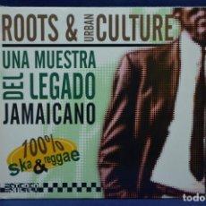 CDs de Música: VARIOUS - ROOTS & URBAN CULTURE / UNA MUESTRA DEL LEGADO JAMAICANO - CD. Lote 185997887