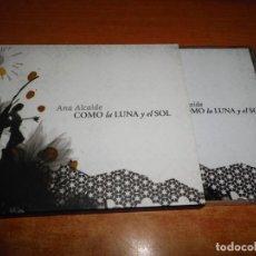 CDs de Música: ANA ALCAIDE COMO LA LUNA Y EL SOL CD ALBUM DEL AÑO 2007 MUSICA SEFARDI CONTIENE 12 TEMAS. Lote 185999686