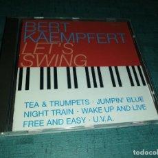 CDs de Música: BERT KAEMPFERT, LET'S SWING. Lote 186032485