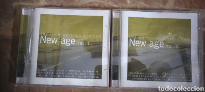 THE UNIVERSAL COLLECTIONS. NEW AGE VOLUMEN 1 Y 2. 2 CD (Música - CD's New age)