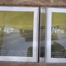 CDs de Música: THE UNIVERSAL COLLECTIONS. NEW AGE VOLUMEN 1 Y 2. 2 CD. Lote 186046080