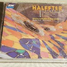 CDs de Música: ERNESTO HALFFTER / FILARMÓNICA DE GRAN CANARIA / ADRIAN LEAPER / CD - PRECINTADO.. Lote 186056993
