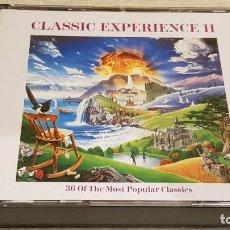 CDs de Música: CLASSIC EXPERIENCE II / VARIOS ARTISTAS / DOBLE CD-BOX / 36 TEMAS / CALIDAD LUJO.. Lote 186058241