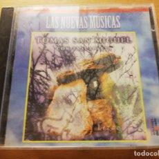 CDs de Música: TOMAS SAN MIGUEL CON TXALAPARTA. LEZAO (LAS NUEVAS MÚSICAS) CD. Lote 186058590