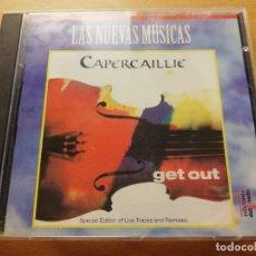 CDs de Música: CAPERCAILLIE. GET OUT (LAS NUEVAS MÚSICAS) CD. Lote 186058935