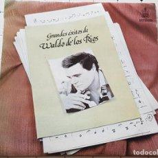 CDs de Música: LP-GRANDES ÉXITOS DE WALDO DE LOS RÍOS-HISPAVOX-1977-10 TEMAS-VER FOTOS. Lote 186062721