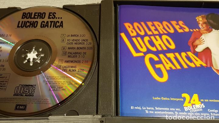 CDs de Música: BOLERO ES...LUCHO GATICA / DOBLE CD-BOX / 24 TEMAS / CALIDAD LUJO. - Foto 2 - 186067318