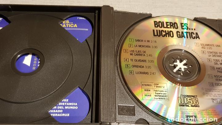 CDs de Música: BOLERO ES...LUCHO GATICA / DOBLE CD-BOX / 24 TEMAS / CALIDAD LUJO. - Foto 3 - 186067318