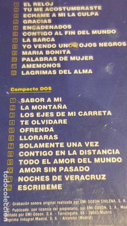 CDs de Música: BOLERO ES...LUCHO GATICA / DOBLE CD-BOX / 24 TEMAS / CALIDAD LUJO. - Foto 5 - 186067318