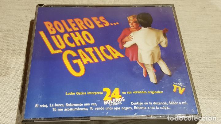 BOLERO ES...LUCHO GATICA / DOBLE CD-BOX / 24 TEMAS / CALIDAD LUJO. (Música - CD's Melódica )