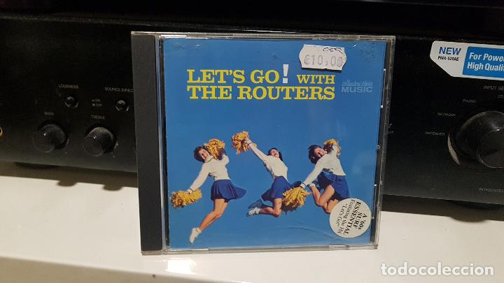 THE ROUTERS (USA) – LET'S GO! WITH THE ROUTERS (2010) - 60S - SURF MUSIC MADRID (Música - CD's Otros Estilos)