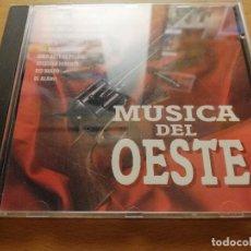 CDs de Música: MÚSICA DEL OESTE (EL BUENO, EL FEO Y EL MALO / POR UN PUÑADO DE DOLARES / ESTRELLA ERRANTE) CD. Lote 186083470