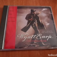 CDs de Música: CD WYATT EARP / JAMES NEWTON HOWARD CD BSO. Lote 186088617