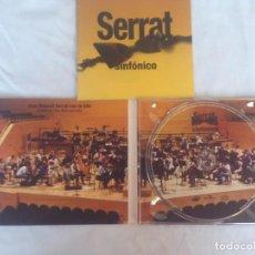 CDs de Música: JOAN MANUEL SERRAT - SINFONICO - CD. Lote 186090976