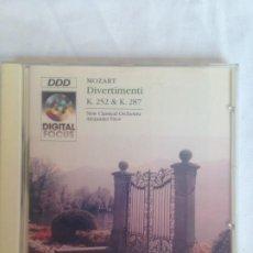 CDs de Música: MOZART DIVERTIMENTI. Lote 186091767