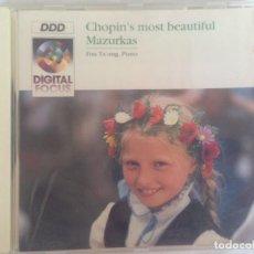 CDs de Música: FREDERIC CHOPIN - MAZURKAS. Lote 186093577