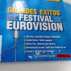 CDs de Música: CD-EP ( 5 TEMAS) GRANDES EXITOS DEL FESTIVAL DE EUROVISION. Lote 186094563