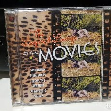 CDs de Música: THE LEOPARD LOUNGE AT THE MOVIES - SWINGING FILM TUNES FROM THE ATLANTIC & WARNER VAULTS. Lote 186097418