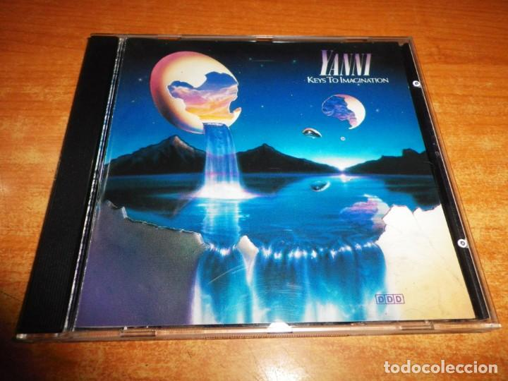 YANNI KEYS TO IMAGINATION CD ALBUM AÑO 1989 ALEMANIA CONTIENE 8 TEMAS NEW AGE AMBIENT WORLD MUSIC (Música - CD's New age)