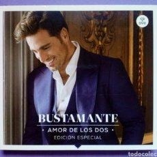 CDs de Música: BUSTAMANTE - AMOR DE LOS DOS - EDICIÓN ESPECIAL CD + DVD. Lote 186100018