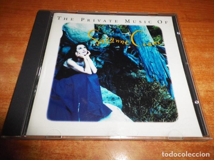 SUZANNE CIANI THE PRIVATE MUSIC OF CD ALBUM 1992 ESPAÑA CONTIENE 14 TEMAS NEW AGE (Música - CD's New age)