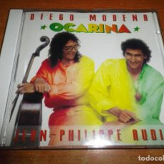 CDs de Música: DIEGO MODENA & JEAN PHILLIPPE RUDIN OCARINA CD ALBUM DEL AÑO 1991 CONTIENE 12 TEMAS . Lote 186102773