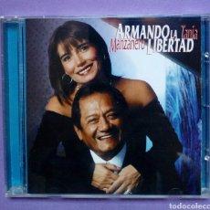CDs de Música: ARMANDO MANZANERO Y TANIA LIBERTAD. 1998. Lote 186109141