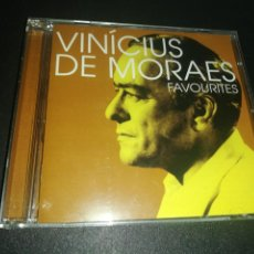CDs de Música: VINICIUS DE MORAES, FAVOURITES. Lote 186110635