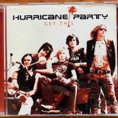 CDs de Música: HURRICANE PARTY // GET THIS // EP EDICIÓN USA. Lote 186113522