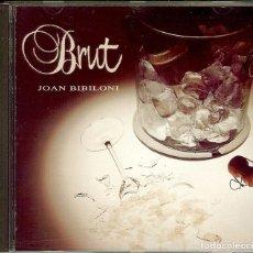 CDs de Música: CD JOAN BIBILONI BRUT . Lote 186120223