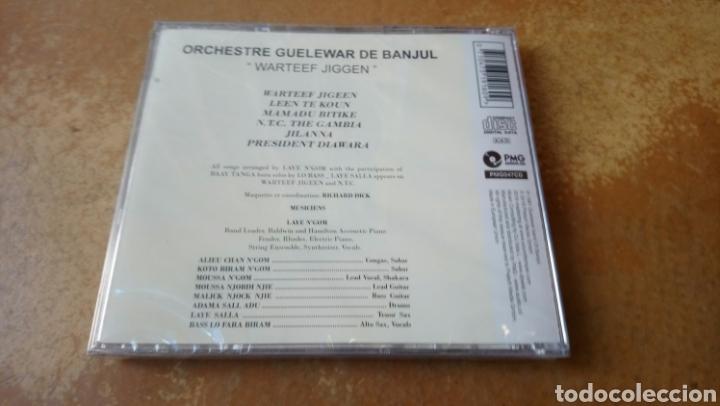 CDs de Música: Guelewar Band Of Banjul–Warteef Jigeen. CD precintado. Afrobeat Gambia. Descatalogado - Foto 2 - 186129572