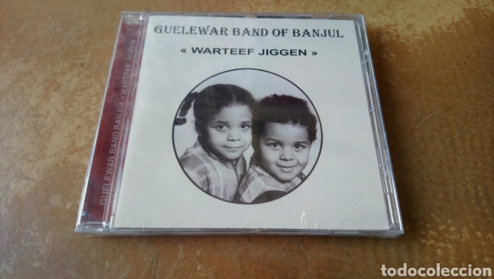 GUELEWAR BAND OF BANJUL–WARTEEF JIGEEN. CD PRECINTADO. AFROBEAT GAMBIA. DESCATALOGADO (Música - CD's Jazz, Blues, Soul y Gospel)