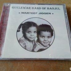 CDs de Música: GUELEWAR BAND OF BANJUL–WARTEEF JIGEEN. CD PRECINTADO. AFROBEAT GAMBIA. DESCATALOGADO. Lote 186129572