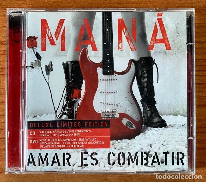 MANÁ // AMAR ES COMBATIR // EDICIÓN LIMITADA ESPECIAL CD + DVD (Música - CD's Latina)
