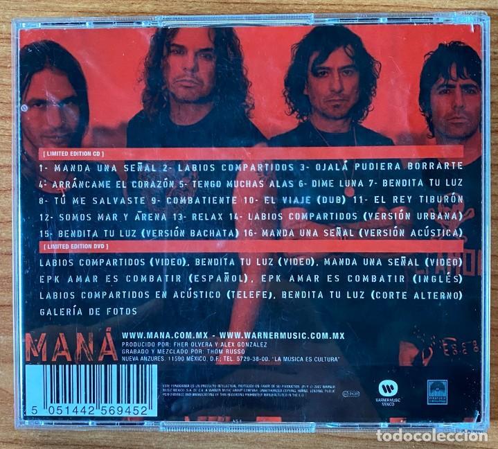 CDs de Música: Maná // Amar Es combatir // Edición Limitada Especial CD + DVD - Foto 2 - 186156461