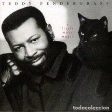 CDs de Música: TEDDY PENDERGRASS - A LITTLE MORE MAGIC .CD EDICIÓN ALEMANA. ELEKTRA 1993. NUEVO - SONIDO FILADELFIA. Lote 186161563