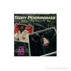 CDs de Música: TEDDY PENDERGRASS - 2 LP'S EN 1 CD - TEDDY + THIS ONE'S FOR YOU - CD EDICIÓN UK - SONIDO FILADELFIA. Lote 186166612