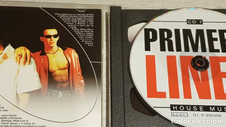 CDs de Música: PRIMERA LINEA - HOUSE MUSIC / DOBLE CD - VALE MUSIC-1998 / 35 TEMAS / DE LUJO. - Foto 2 - 186171617
