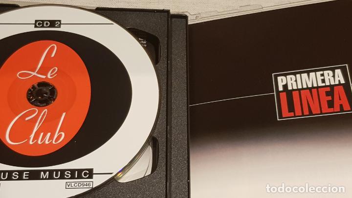 CDs de Música: PRIMERA LINEA - HOUSE MUSIC / DOBLE CD - VALE MUSIC-1998 / 35 TEMAS / DE LUJO. - Foto 3 - 186171617