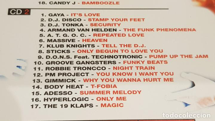 CDs de Música: PRIMERA LINEA - HOUSE MUSIC / DOBLE CD - VALE MUSIC-1998 / 35 TEMAS / DE LUJO. - Foto 6 - 186171617