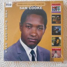 CDs de Música: SAM COOKE. ESTUCHE CON 5 COMPACTOS ORGIINALES. NUEVO A ESTRENAR. HIT KIT. COOKE'S TOR. MY KIND OF BL. Lote 186172228