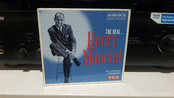 TRIPLE CD HENRY MANCINI THE REAL... HENRY MANCINI THE ULTIMATE COLLECTION. BIG BAND,JAZZ (Música - CD's Rock)