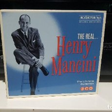 CDs de Música: TRIPLE CD HENRY MANCINI THE REAL... HENRY MANCINI THE ULTIMATE COLLECTION. BIG BAND,JAZZ. Lote 186173801